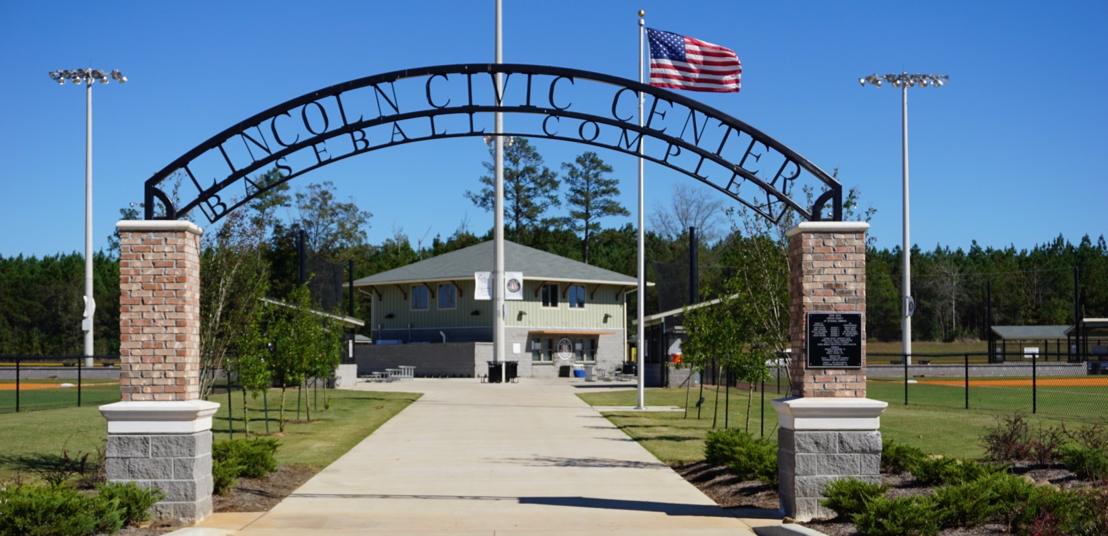 LCCC Baseball Complex Entrance